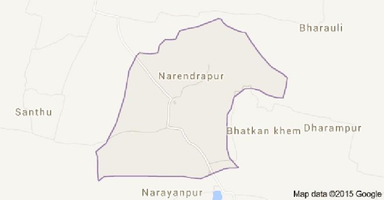 Narendrapur-Gram-Panchayat-Map